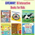 GIVEAWAY: 16 Interactive Books for Kids