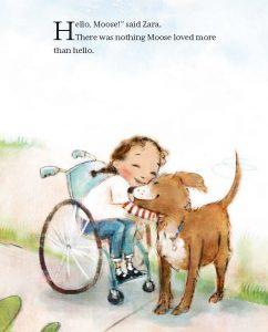Hello Goodbye Dog kids in wheelchairs