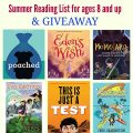 Summer Reading List for ages 8 and up & GIVEAWAY