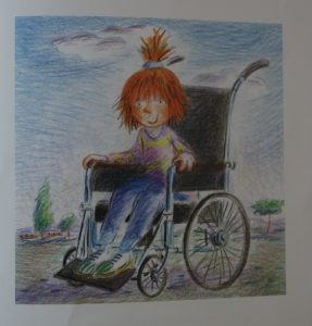 kids in wheel chair books