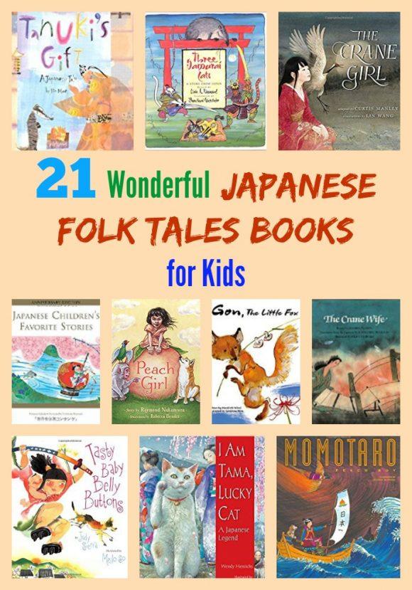 21 Wonderful Japanese Folk Tales Books for Kids