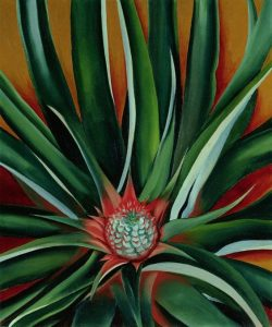 Georgia O'Keeffe Pineapple Bud picture book biography