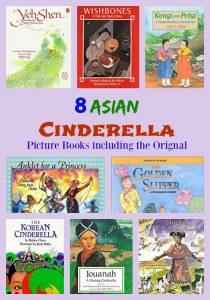8 Asian CinderellaPicture Books including the Original