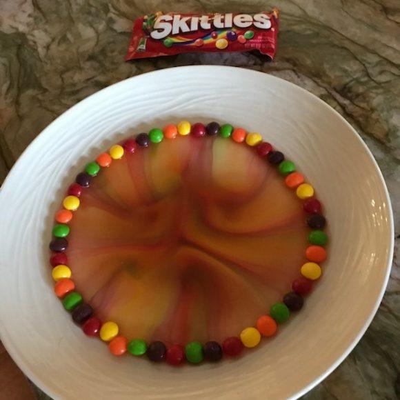 Skittles Rainbow Science Experiment Fail