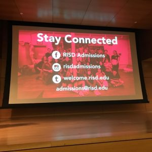 connect with RISD admissions