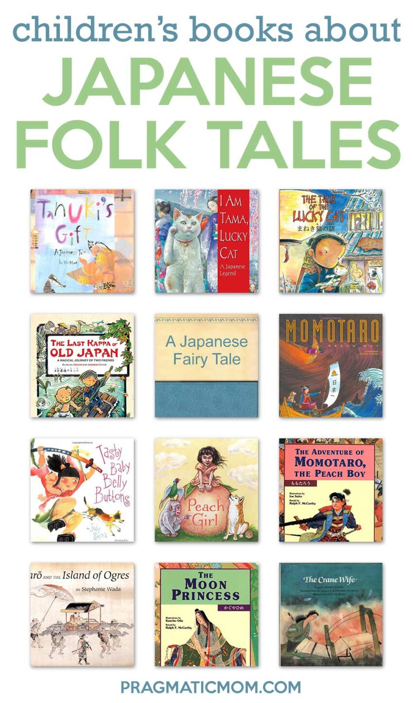 Japanese Folk Tales Books for Kids
