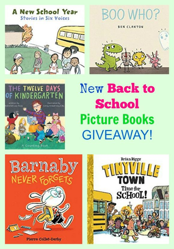 New Back to School Picture Books GIVEAWAY!