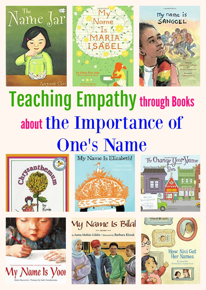 Teaching Empathy through Books about the Importance of One's Name