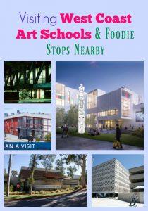 Visiting West Coast Art Schools