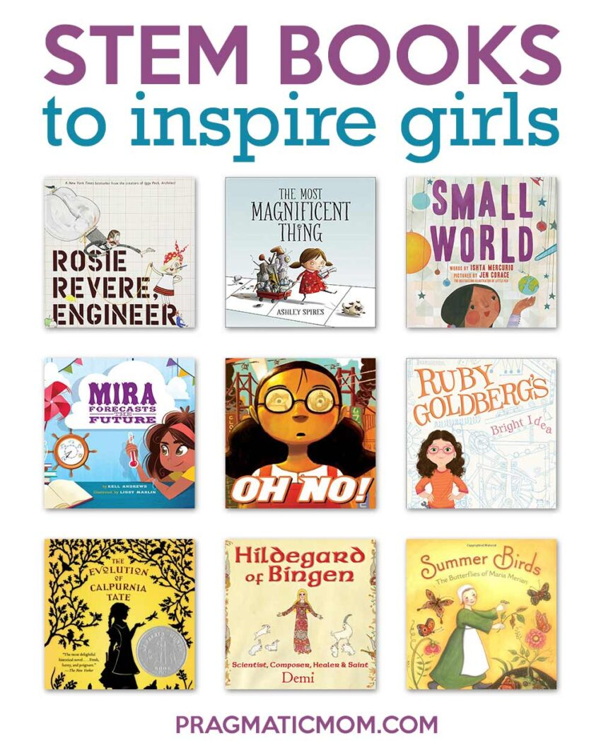 STEM Books to Inspire Girls