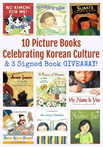 10 Picture Books Celebrating Korean Culture & 3 Signed Book GIVEAWAY!