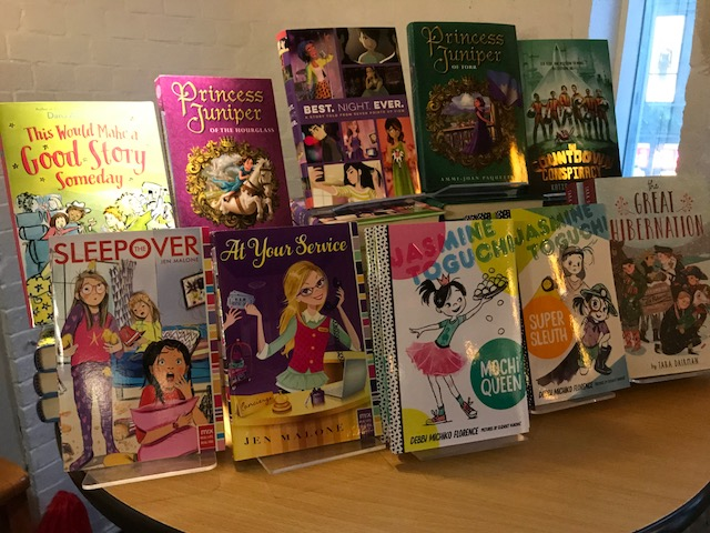 Middle Grade Authors Describe & Read from Their Books