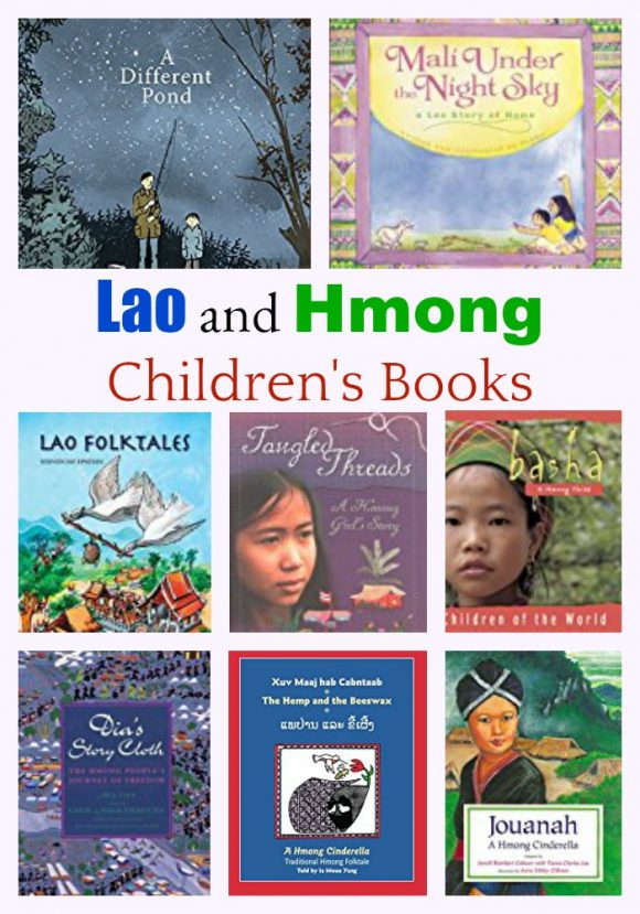 Lao and Hmong Children's Books