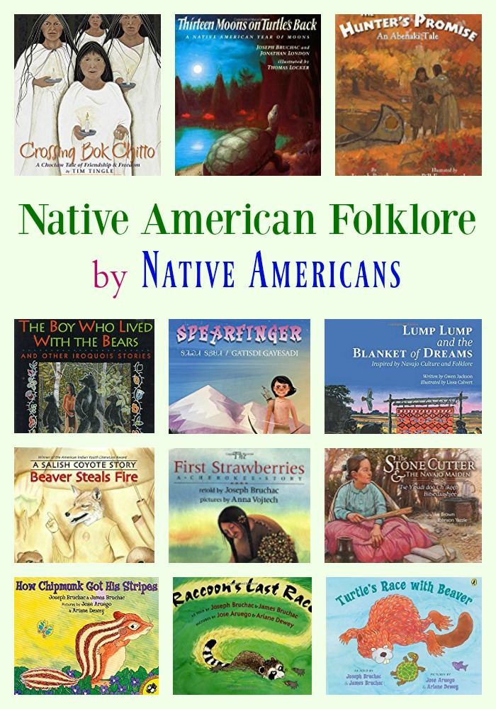 Native American Folklore by Native Americans
