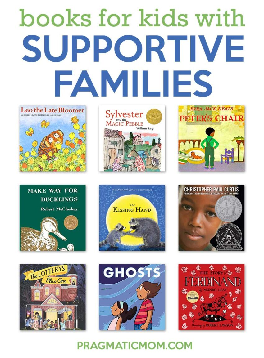 Books for Kids with Supportive Families