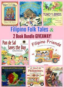 Filipino Folk Tales & 2 Book Bundle GIVEAWAY!