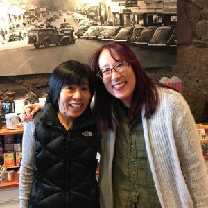 Mia Wenjen and Debbi Michiko Florence