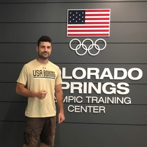 Marc Gargaro boxing trainer for US National Elite Team