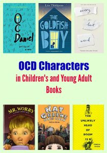 OCD Characters in Children's and Young Adult books