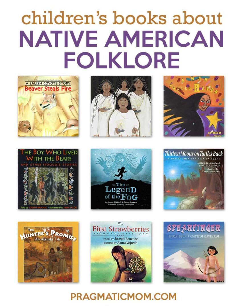 Native American Folklore & Creation Stories by Native Americans