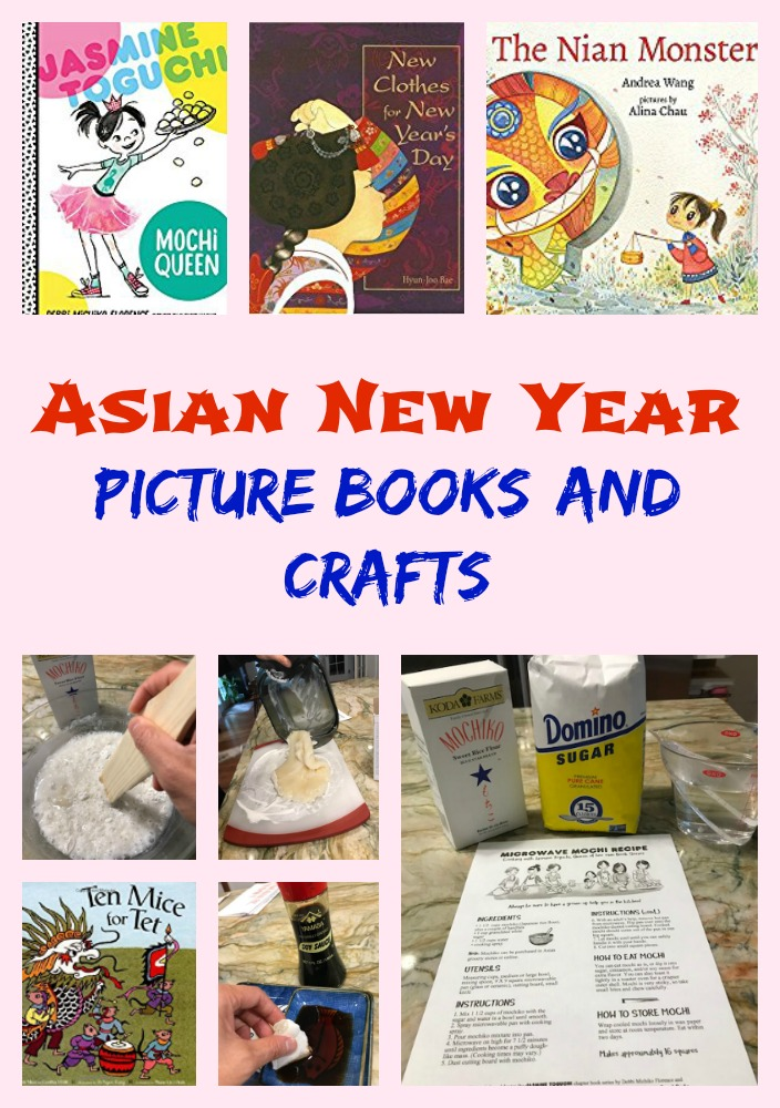 Asian New Year Picture Books and Crafts