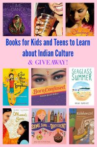 Books for Kids and Teens to Learn About Indian Culture & GIVEAWAY!