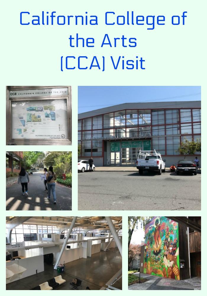California College of the Arts (CCA) Visit