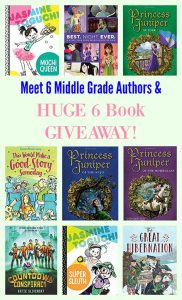 Meet 6 Middle Grade Authors & HUGE 6 Book GIVEAWAY!