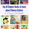 Top 10 Chapter Books about Chinese Culture & 3 Book GIVEAWAY