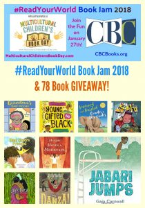 #ReadYourWorld Book Jam 2018 & 78 Book GIVEAWAY!