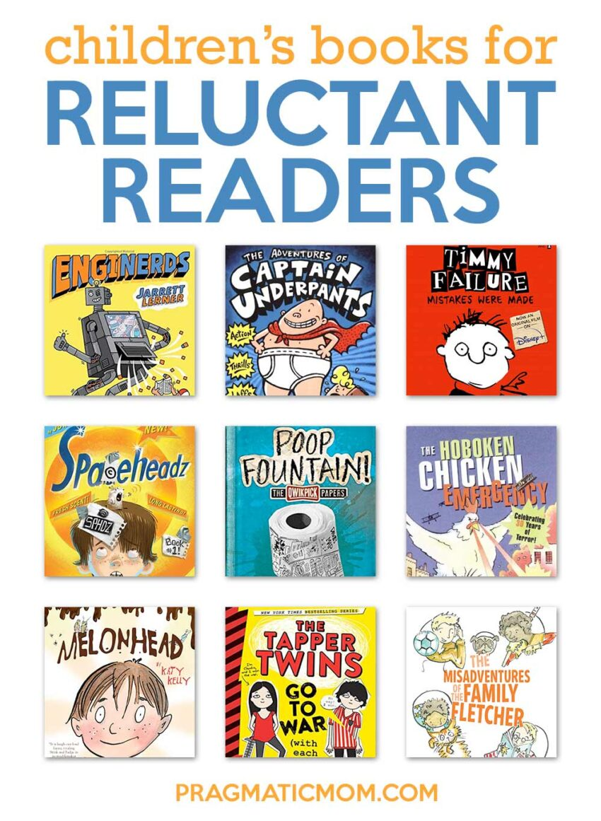 Books to Turn Reluctant Readers into Eager Ones