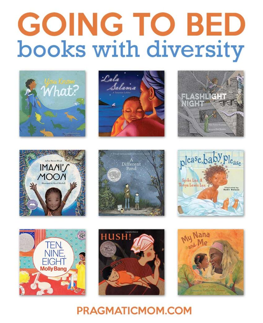 Wonderful Diversity Going to Bed Books