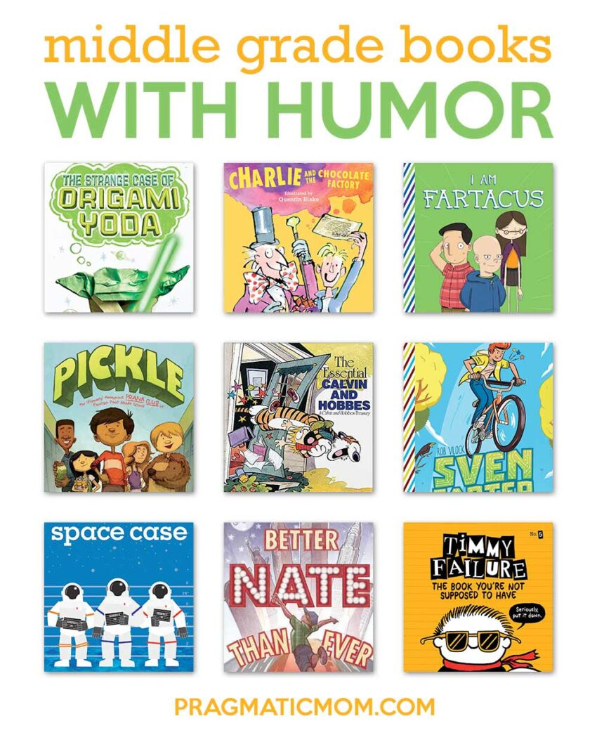 Middle Grade Humor for Boys