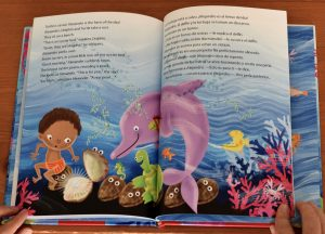 learning Spanish with bilingual picture books