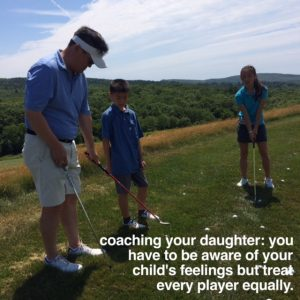 coaching your own daughter, How to Coach Girls