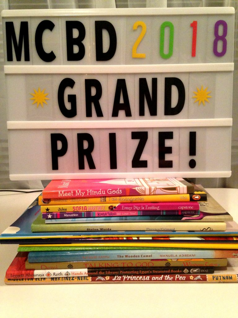 Multicultural Children's Book Day GRAND PRIZE