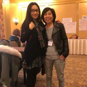 Celeste Lim at KidLitCon Hershey