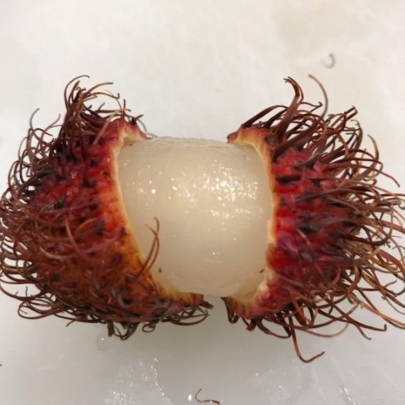 Rambutan exotic fruit challenge