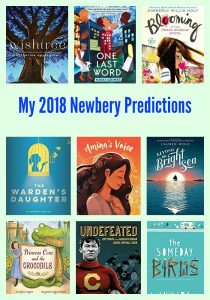 My 2018 Newbery Predictions