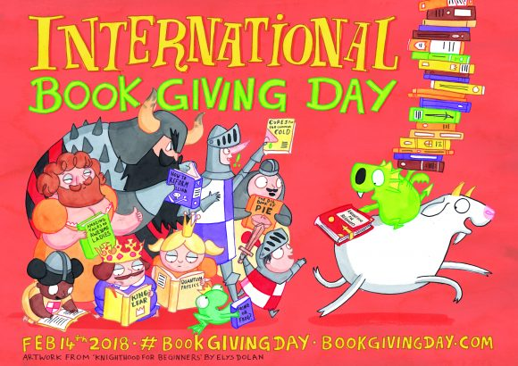 International Book Giving Day POSTER REVEAL!
