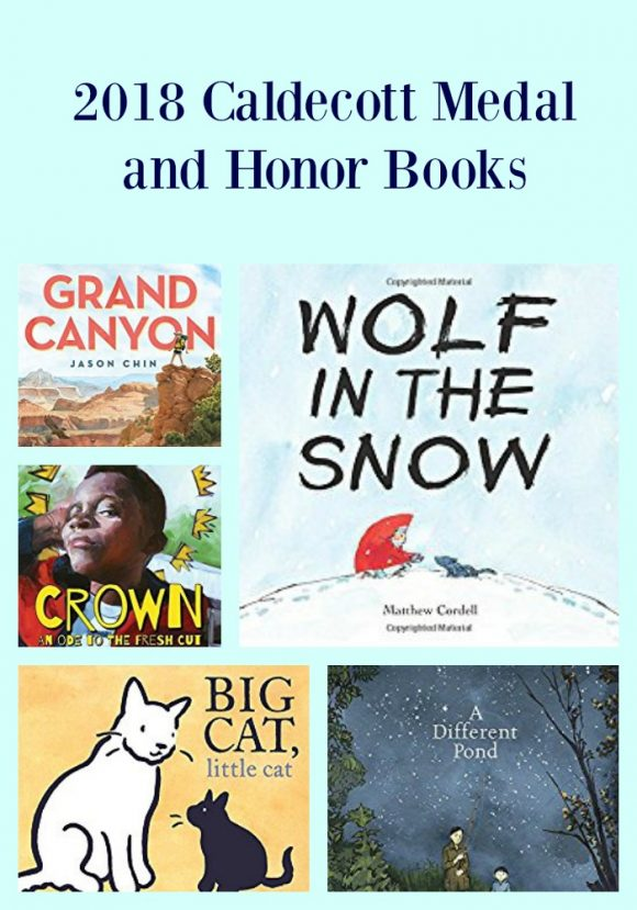 2018 Caldecott Medal and Honor Books