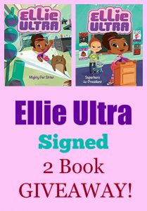 Ellie Ultra Signed 2 Book GIVEAWAY!
