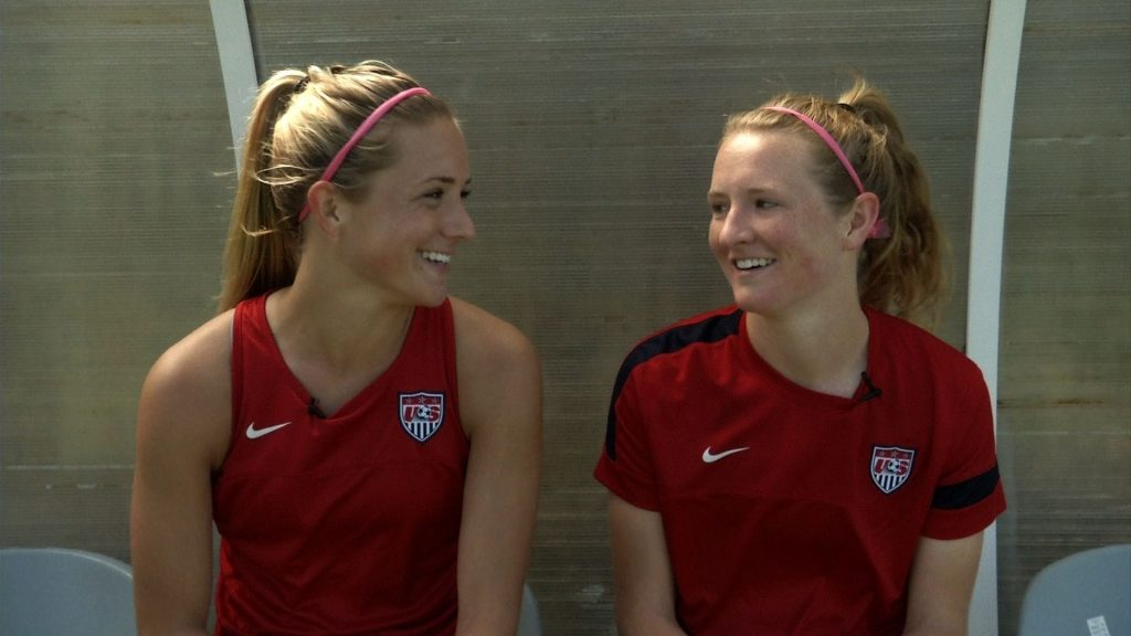 Kristie and Samatha Mewis