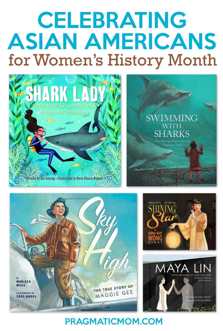 Celebrating Asian Americans for Women's History Month