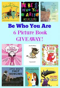 Be Who You Are 6 Picture Book GIVEAWAY!
