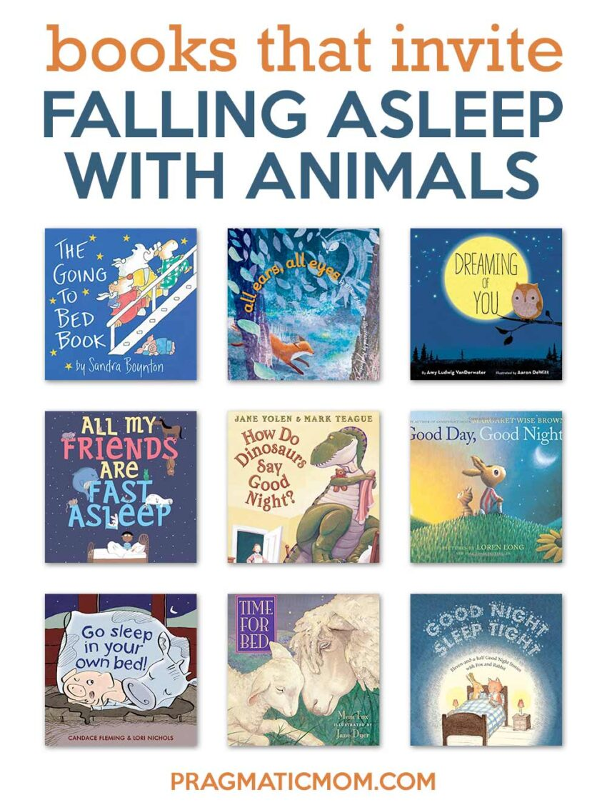 Books that Invite Falling Asleep with Animals