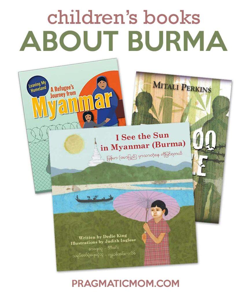 Burmese children's books