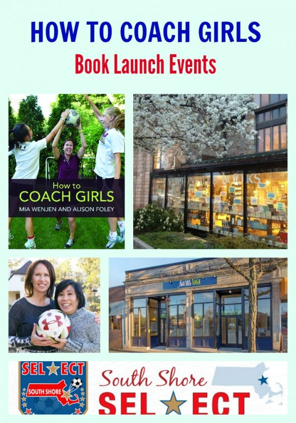 HOW TO COACH GIRLS book launch events