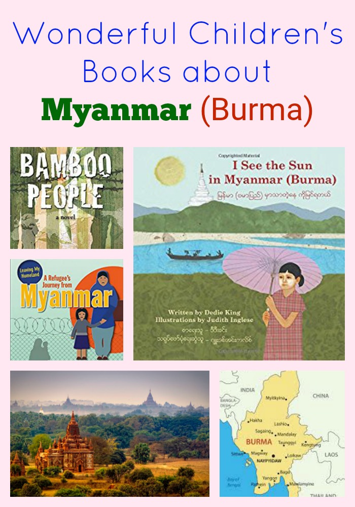 Wonderful Children's Books About Myanmar (Burma)