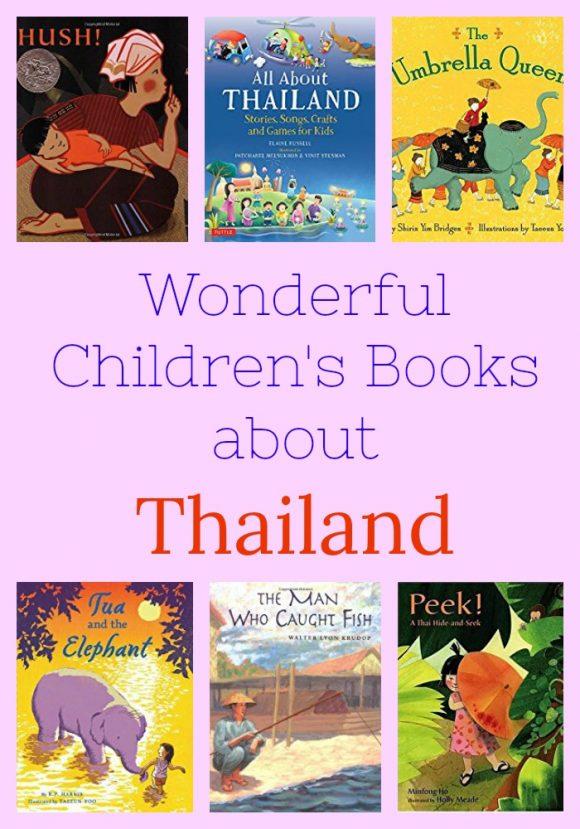 Wonderful Children's Books About Thailand